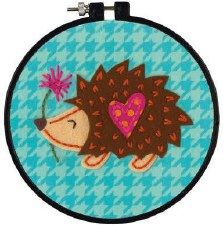 Learn 2 Craft Felt Applique Kit- Little Hedgehog