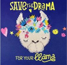 Diamond Facet Art Kit- Llama Drama