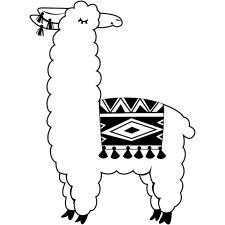 Darice Embossing Folder- Llama