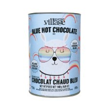 Colored Hot Cocoa Mix Canister- Blue