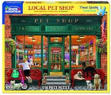 Local Pet Shop - 550 Piece Puzzle