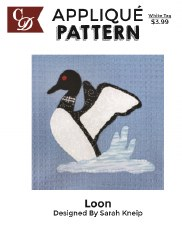 Applique Pattern- Loon