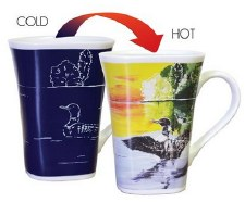 Color Changing Story Mug- Loon