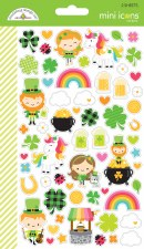 Lots O' Luck Stickers- Mini Icons