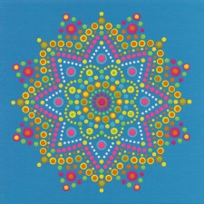 Dimensions Lots of Dots Paint by Number- Mandala