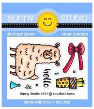 Sunny Studio Loveable Llama Craft Dies