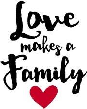 """Love Makes A Family"" Vinyl"