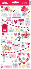 Love Notes Stickers- Icons