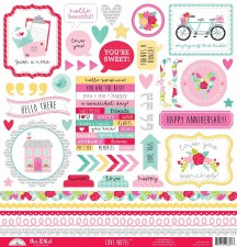 Love Notes Stickers- This & That 12x12