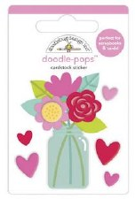 Love Notes Stickers: Doodle-Pops- Love You Bunches