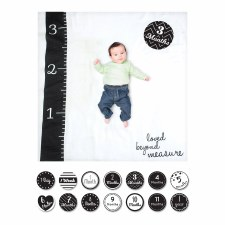 Baby's 1st Year Blanket & Card Set- Loved Beyond Measure