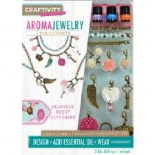 Craftivity Craft Kit- Aroma Jewelry, Lovely Lockets
