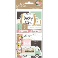 Lovely Moments Ephemera Die Cuts- Phrases