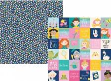 Little Princess 12x12 Paper- 2x2 Elements
