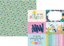 Little Princess 12x12 Paper- 4x6 Elements