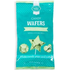 Make 'n Mold Candy Wafers- Vanilla, Light Green