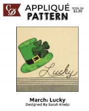 Applique Pattern- Lucky