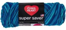 Red Heart Super Saver Yarn- Macaw