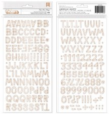 Magical Forest Stickers- Alphabet Thickers