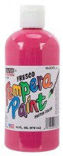 Fresco Tempera Paint, 16oz- Magenta