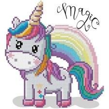 Diamond Facet Art Kit- Magic Rainbow