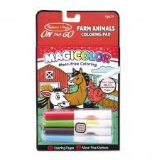 Melissa & Doug On The Go Magicolor Coloring Pad- Farm