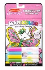 Melissa & Doug On The Go Magicolor Coloring Pad- Friends & Fun