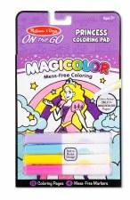 Melissa & Doug On The Go Magicolor Coloring Pad- Princess