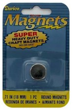 Darice Magnets- Super Heavy Duty, 3x18mm