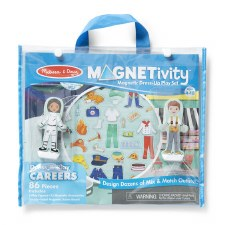 Magnetivity Magnet Dress-Up Play Set- Careers