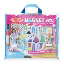 Magnetivity Magnet Dress-Up Play Set- Fashion