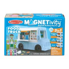 Magnetivity Magnetic Building Play Set- Food Truck