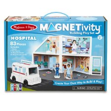 Magnetivity Magnetic Building Play Set- Hospital