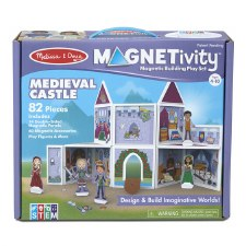 Magnetivity Magnetic Building Play Set- Medieval Castle