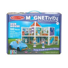 Magnetivity Magnetic Building Play Set- Our House