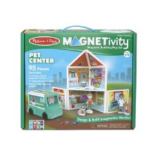 Magnetivity Magnetic Building Play Set- Pet Center