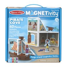 Magnetivity Magnetic Building Play Set- Pirate Cove