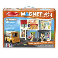 Magnetivity Magnetic Building Play Set- School