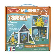 Magnetivity Magnetic Building Play Set- Underwater Adventure