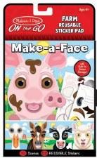 Melissa & Doug On The Go Make-a-Face- Farm