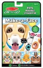 Melissa & Doug On The Go Make-a-Face- Pets
