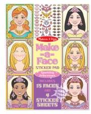 Melissa & Doug Make A Face Sticker Pad- Princesses