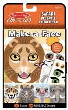 Melissa & Doug On The Go Make-a-Face- Safari