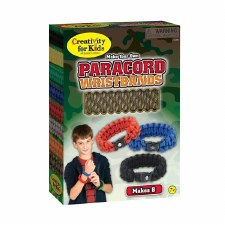 Creativity for Kids Craft Kit- Paracord Wristbands