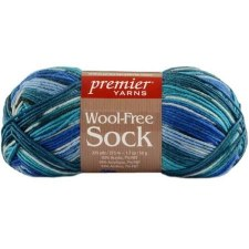 Wool Free Sock Yarn- Mallard