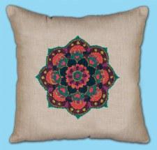 Punch Needle Pillow Kit- Mandala