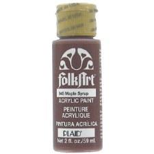 FolkArt 2 Oz. Acrylic Paint- Maple Syrup