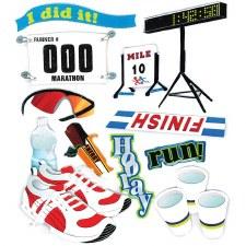 Jolee's Track Dimensional Stickers- Marathon Runner