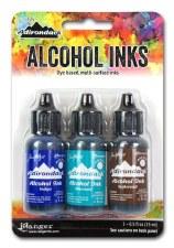 Ranger Alcohol Ink 3 Pack- Mariner