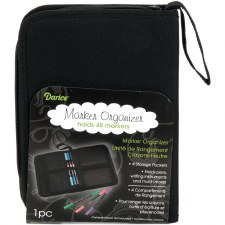 Marker Organizer Zippered Case